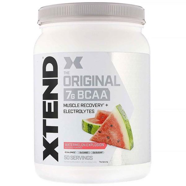 Xtend, The Original, 7г аминокислот с разветвленными цепями, со вкусом арбуза, 650г (1,4фунта)