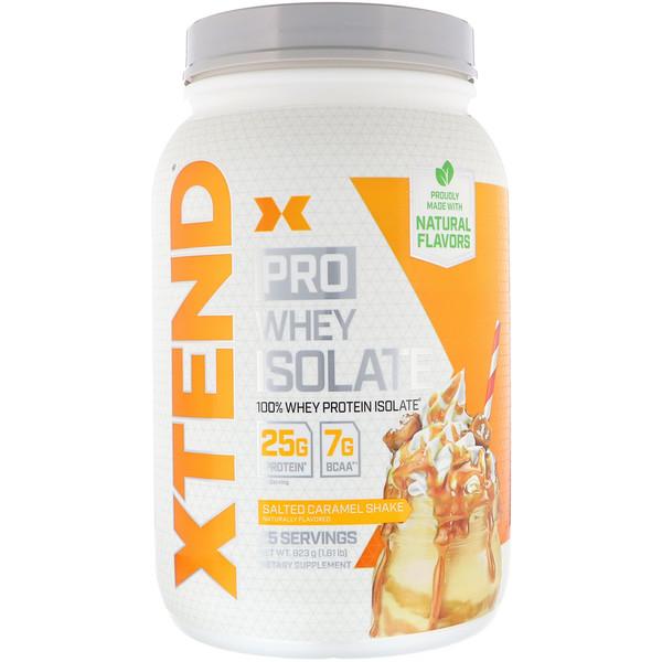 Xtend Pro, сывороточный изолят, соленая карамель, 1,81 фунта (823 г)