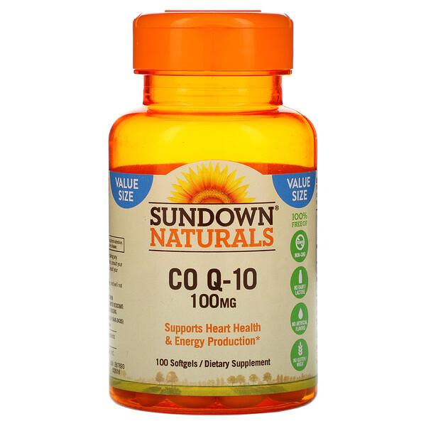 Коэнзим Q-10, 100 мг, 100 гелевых капсул