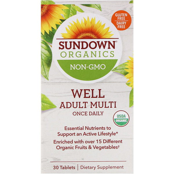 Well Adult Multi, Once Daily, 30 Tablets