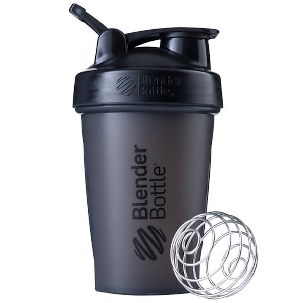 Blender Bottle, Шейкер BlenderBottle, модель Classic с петлей, черный, 591 мл (Discontinued Item)