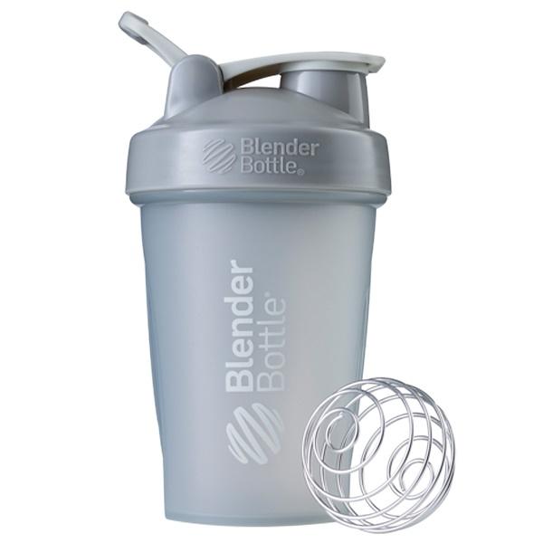 Blender Bottle, BlenderBottle, классическая с петлей, каменисто-серая, 20 унций (Discontinued Item)