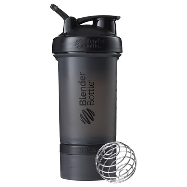 Шейкер BlenderBottle, модель ProStak, черный, 651 мл