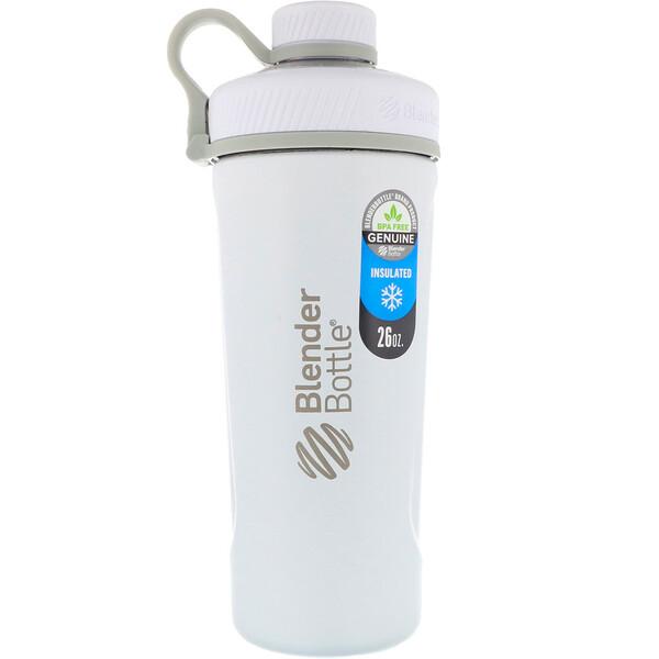 Blender Bottle Radian, из нержавеющей стали с термоизоляцией, матовый белый, 26 унций