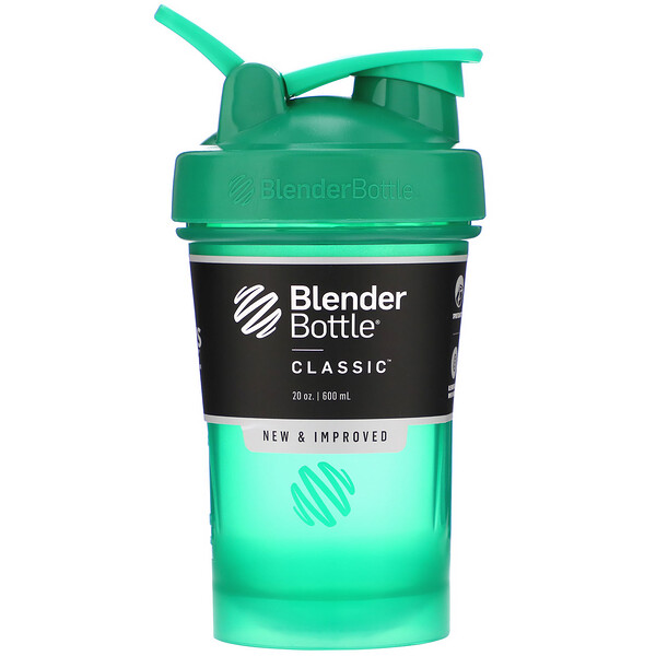 Classic With Loop, Emerald Green, 20 oz