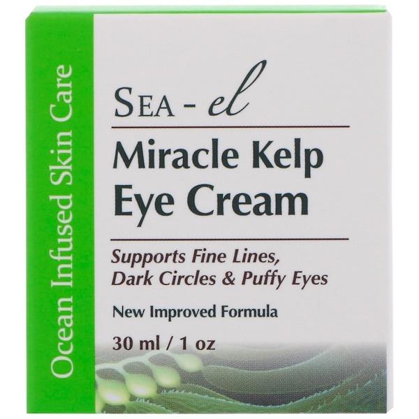 Sea el, Miracle Kelp, крем для области вокруг глаз с чудесными водорослями, 1 унция (30 мл) (Discontinued Item)