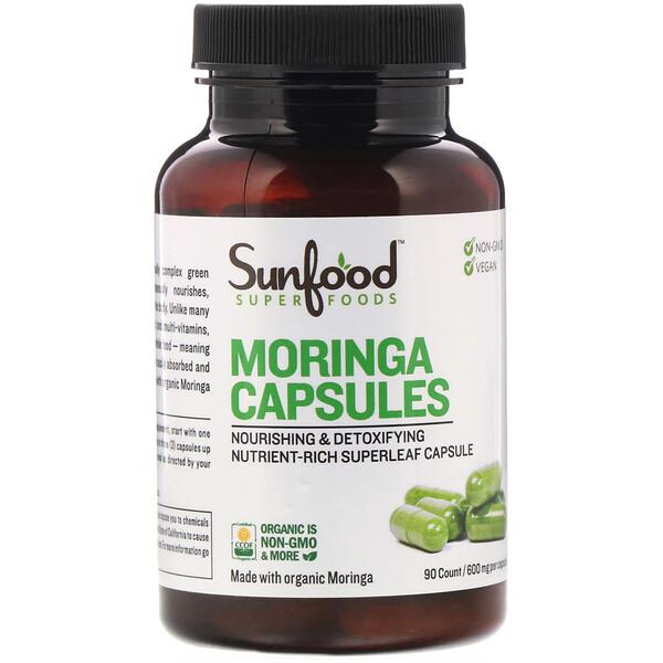 Moringa Capsules, 600 mg, 90 Capsules