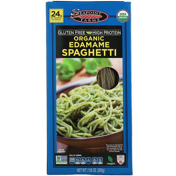 Seapoint Farms, Органические спагетти из эдамаме, 200г (7,05унции)