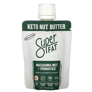 SuperFat, Keto Nut Butter, Macadamia MCT + Probiotics, 1.5 oz (42 g)'