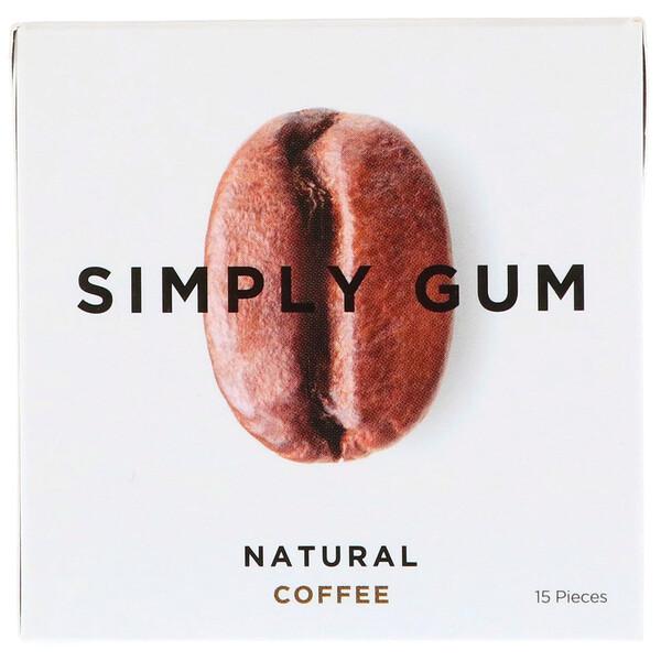 Жевательная резинка, Натуральный кофе, 15 штук