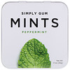 Simply Gum, Мятные конфеты, перечная мята, 30г
