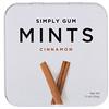 Simply Gum, Мятные конфеты, корица, 30г