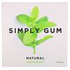 Simply Gum, Натуральная жевательная резинка с перечной мятой, 15шт.