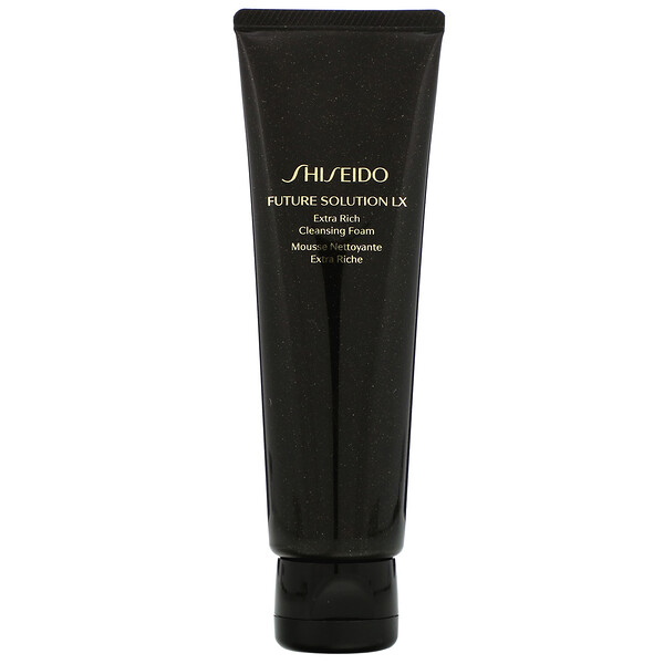 Shiseido, Future Solution LX, Extra Rich Cleansing Foam, 4.7 oz (125 ml) (Discontinued Item)