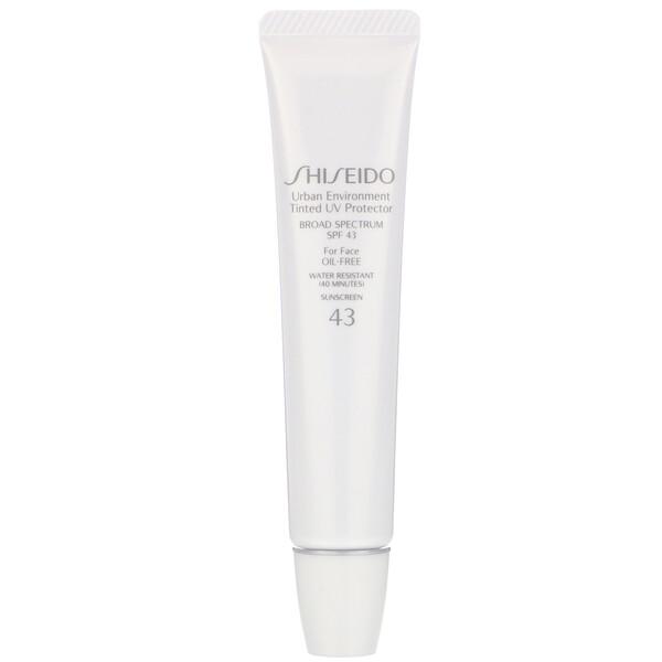Urban Environment, Tinted UV Protector For Face, SPF 43, #3, 1.1 oz (30 ml)