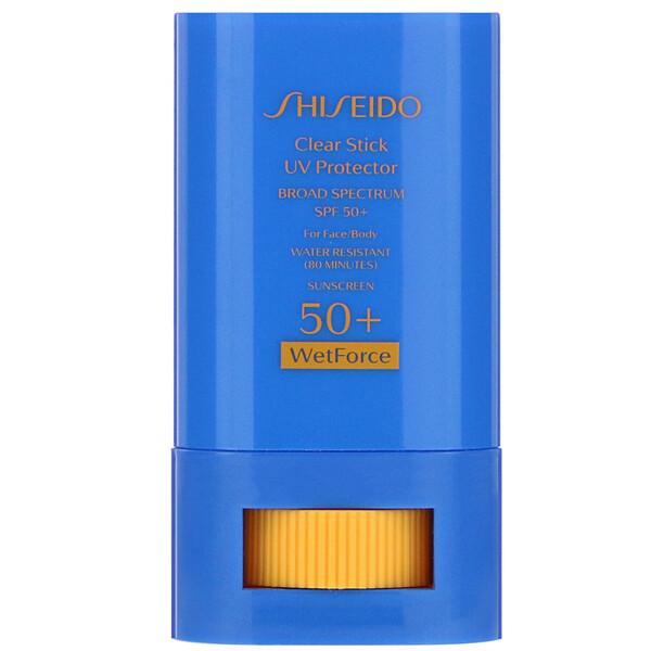 Clear Stick, UV Protector, WetForce, SPF 50+, .52 oz (15 g)