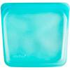 Stasher, Aqua, многоразовый силиконовый контейнер для еды, удобный размер для бутербродов, средний, 450мл (15жидк.унций)