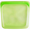 Stasher, Многоразовый силиконовый пищевой пакетик, размер сэндвича, цвет лайма, 15 ж. унц. (450 мл)