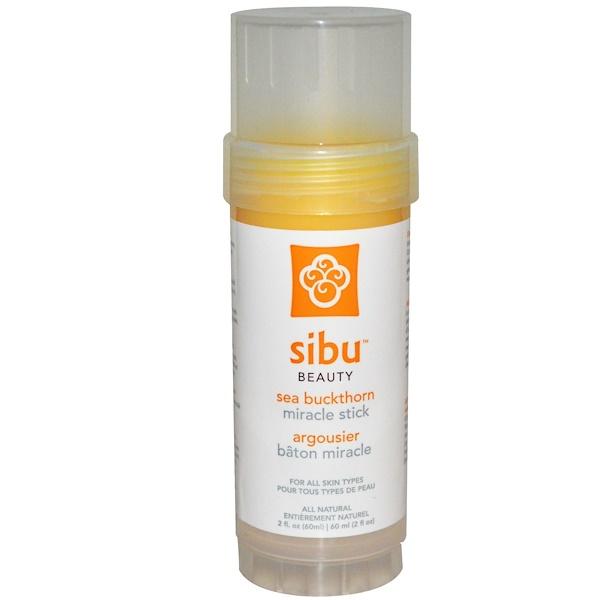 Sibu Beauty, Miracle Stick, облепиха, 2 жидкие унции (60 мл) (Discontinued Item)