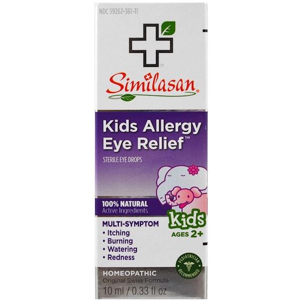 Similasan, Средство против аллергии глаза у детей, стерильные глазные капли, возраст от 2 лет, 10 мл (0,33 жидк. унц. ) (Discontinued Item)
