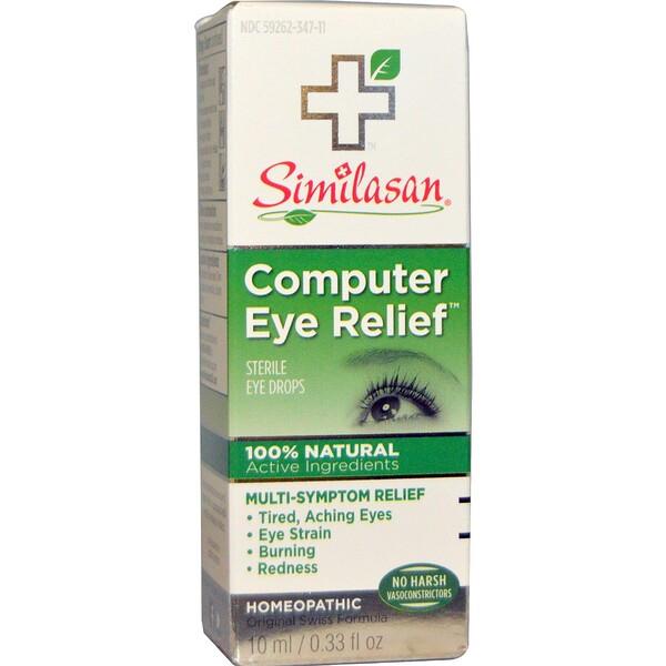 Computer Eye Relief, стерильные глазные капли, 10 мл (0,33 жидкой унции)