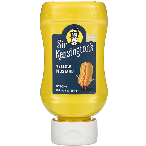 Желтая горчица, 9 унций (255 г)