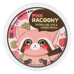 Secret Key, Аппликационные пластинки для глаз и щек с увлажняющим гелем Pink Racoony, 60 пластинок - iHerb
