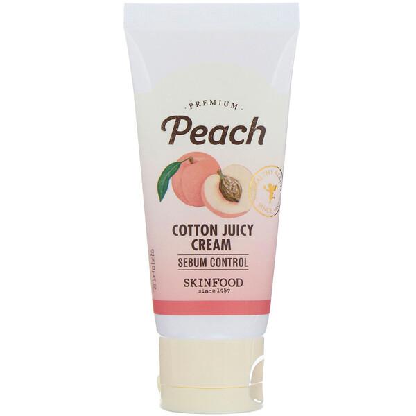 Skinfood, Premium Peach, увлажняющий сочный крем, 60 мл (2,03 жидк.унций)