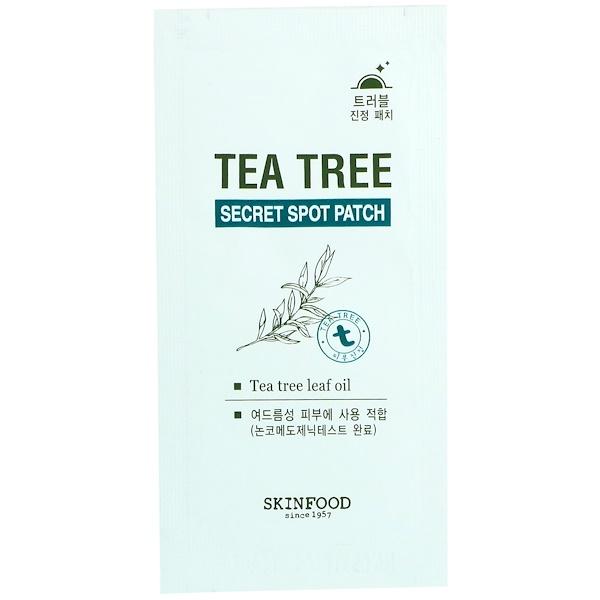 Skinfood, Точечный пластырь от прыщей с чайным деревом, 1 шт. (Discontinued Item)