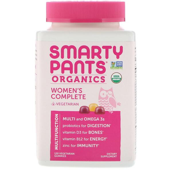 Органический комплекс для женщин, 120вегетарианских жевательных таблеток