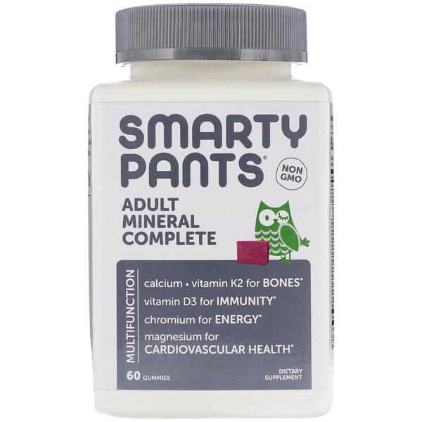 Минеральный комплекс для взрослых, 60жевательных таблеток