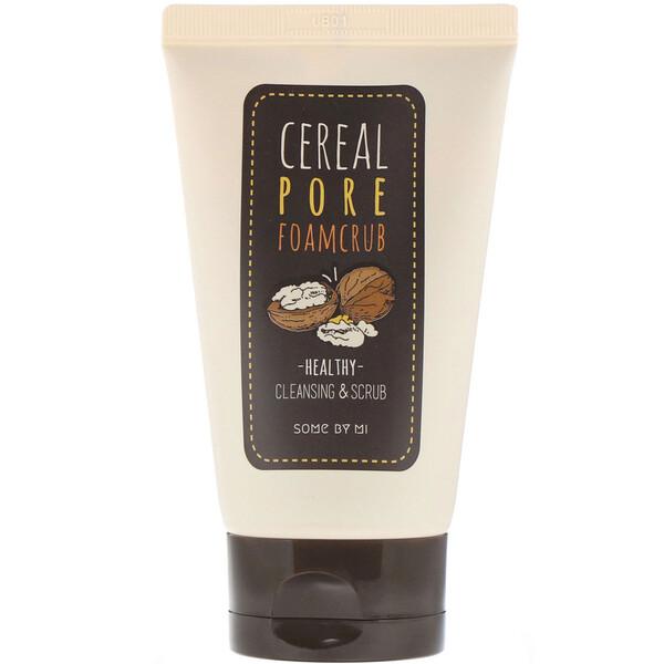 Cereal Pore Foamcrub, пенка-скраб для лица, очищение и отшелушивание, 100мл