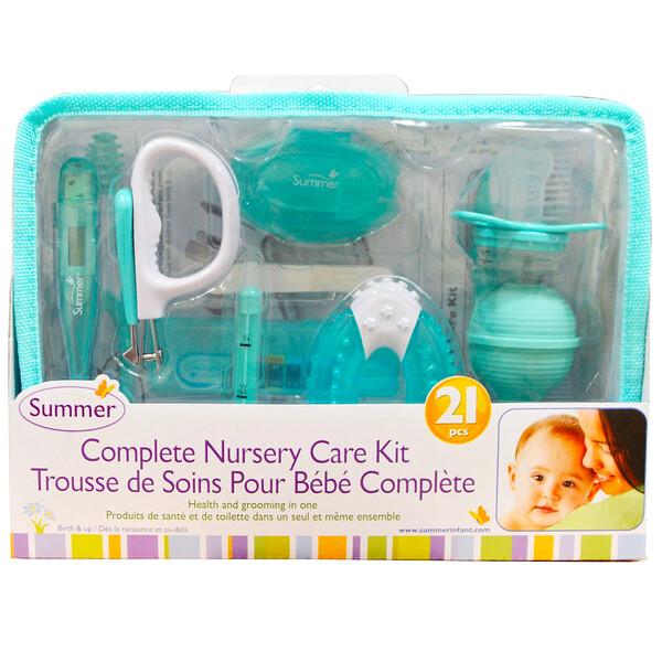Summer Infant, Полный комплект для детского ухода, набор из 21 частей (Discontinued Item)