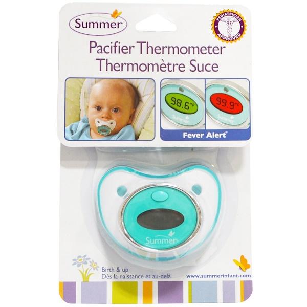 Summer Infant, Термометр-соска, для детей, начиная от младенческого возраста (Discontinued Item)