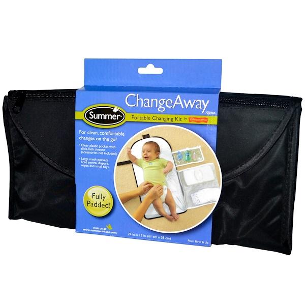 ChangeAway, переносной набор пеленок, с рождения, 61 см x 33 см