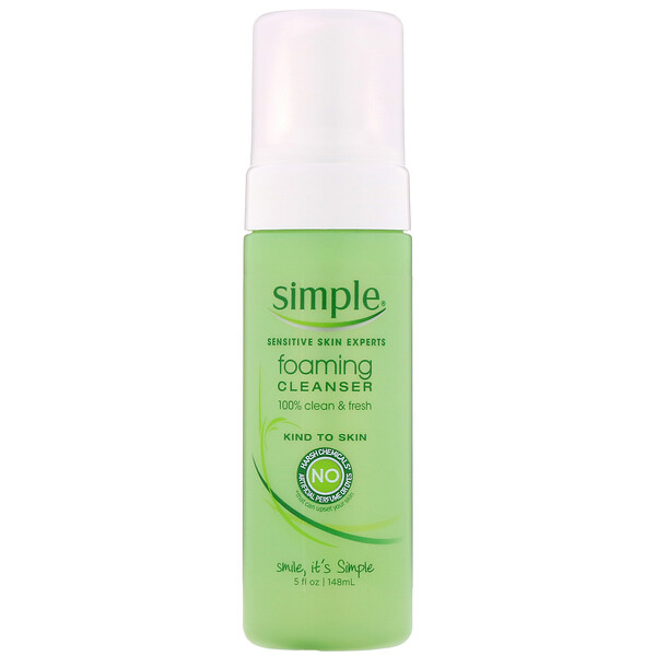 Simple Skincare, Пенка для умывания, 148мл