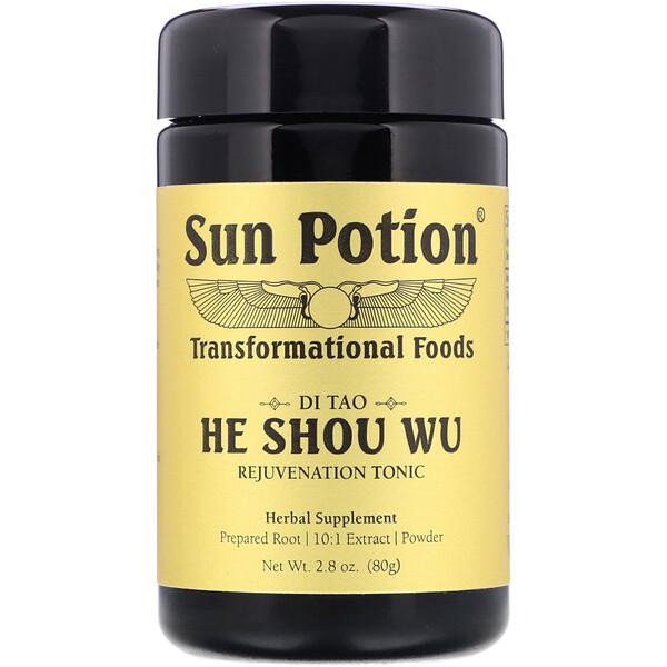 Sun Potion, Горец многоцветковый в виде порошка, 80г