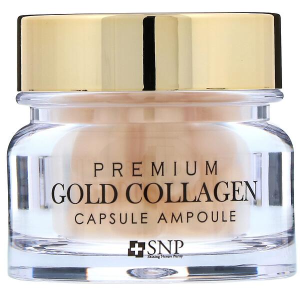 Premium Gold Collagen, ампульные капсулы с коллагеном, 30шт.