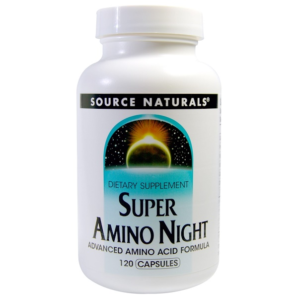 Супер Амино Ночь, 120 капсул