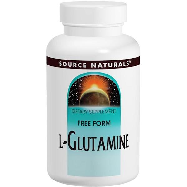 L-глутамин, 500 мг, 100 таблеток