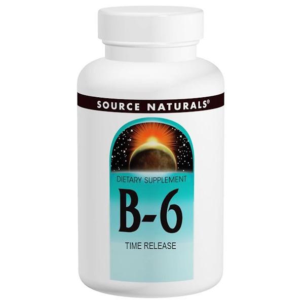 B-6, 500 мг, 100 таблеток