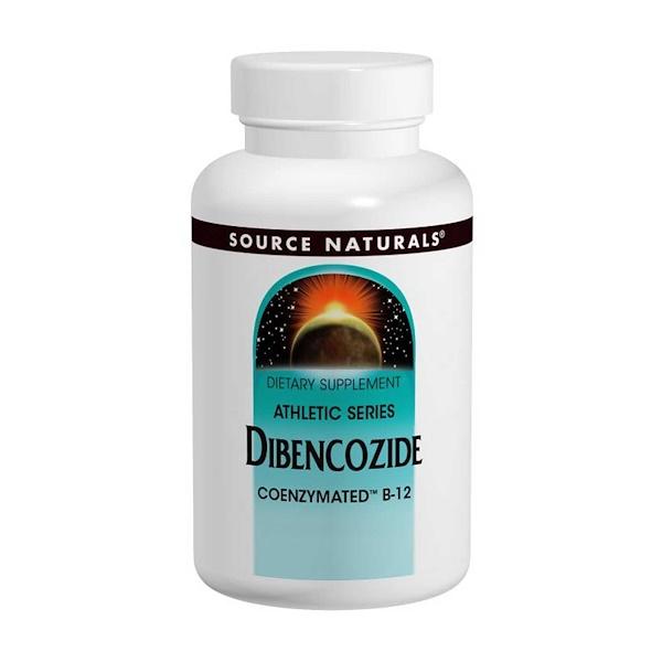 Source Naturals, Дибенкозид (коферментная форма В12), 60 таблеток (Discontinued Item)