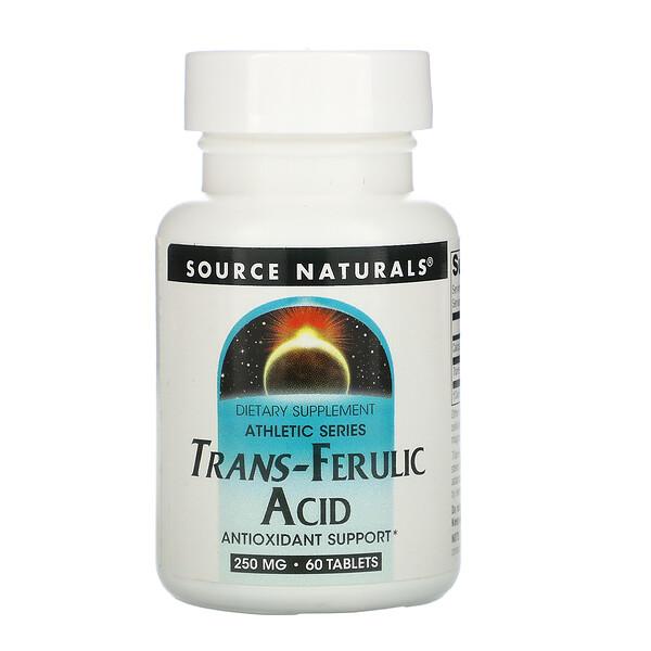 Транс-феруловая кислота, 250 мг, 60 таблеток