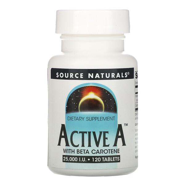 Active A, 25,000 IU, 120 Таблеток