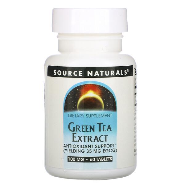 Экстракт зеленого чая, 60 таблеток