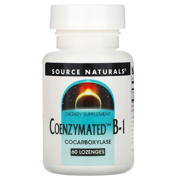 Coenzymated B-1, 60 Lozenges