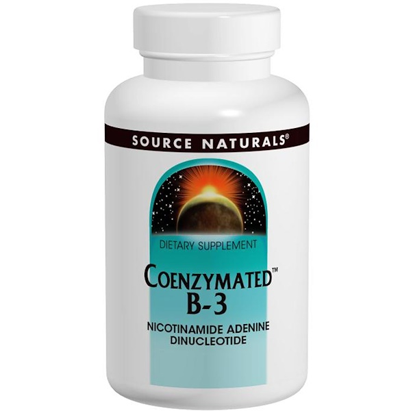 Коферментная форма витамина B3, сублингвальная форма, 25 мг, 60 таблеток