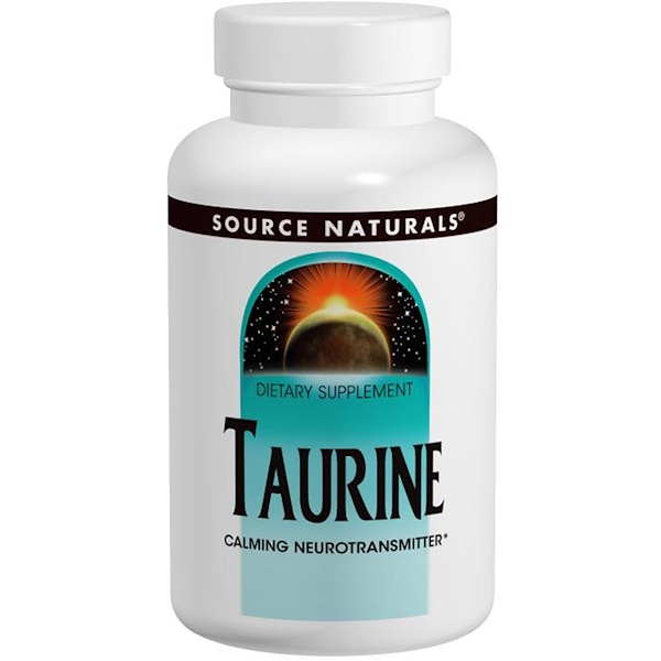 Таурин, 500 мг, 120 таблеток