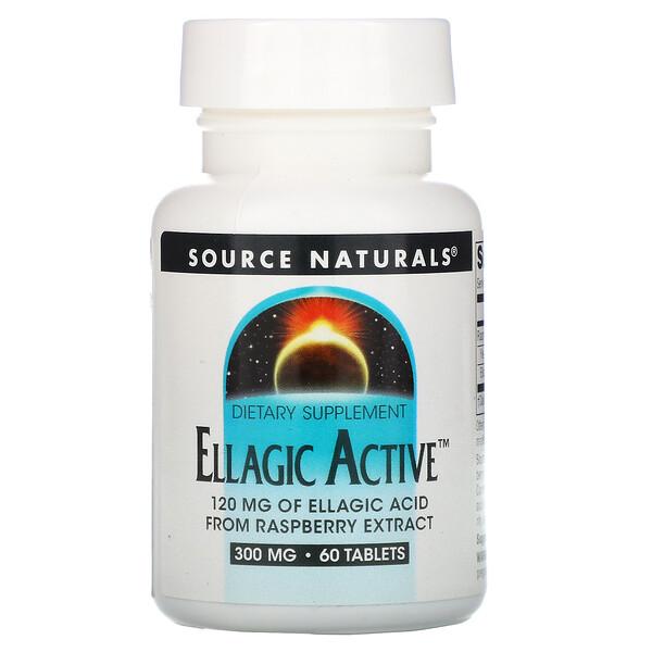 Активные Эллаготанины, 300 мг, 60 таблеток
