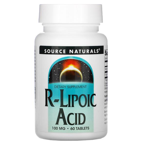 R-липоевая кислота, 100 мг, 60 таблеток